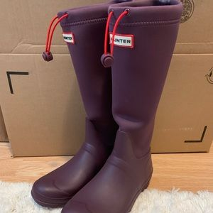 purple Hunter rain/snow boots